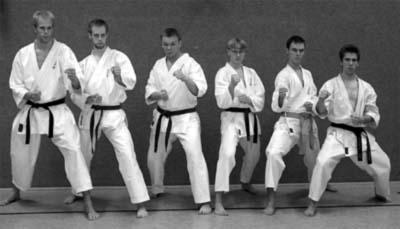 Karateka bei der DM