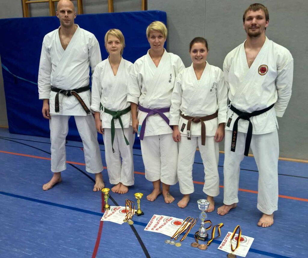 TVE Karateka in Saarburg
